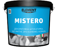 "Decorative plaster MISTERO ""ELEMENT DECOR"""