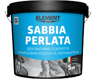 "Decorative finish SABBIA PERLATA ""ELEMENT DECOR"""