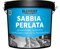"""Декоративное покрытие SABBIA PERLATA """"ELEMENT DECOR"""""""